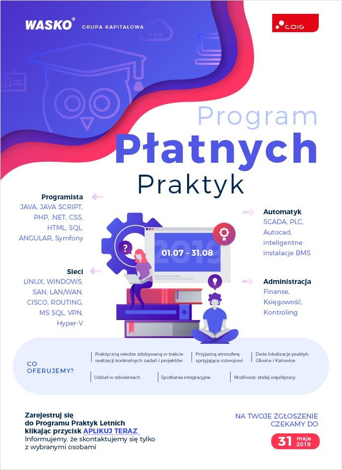 Program Praktyk 2019